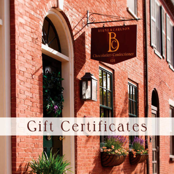 Gift Certificates » Byrne & Carlson